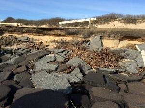 Parking lot erosion @ Herring Cove North